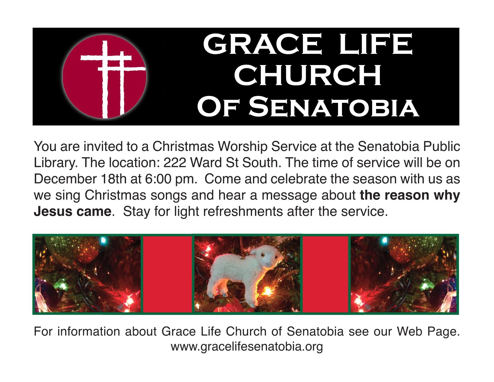Christmas Service: December 18th – Grace Life Senatobia